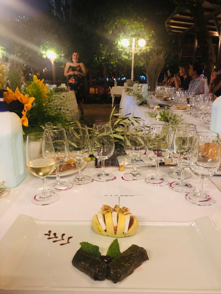 şarap tadım bursa tadım kulübü degustation wine btk Mahrem Selçuk restaurant