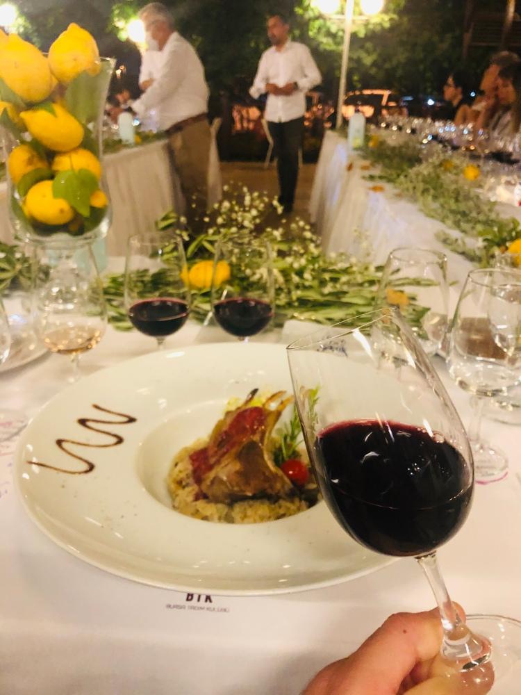 Kuzu selendi sarnıç akhisar moralı blend bursa tadım kulübü selçuk restaurant shiraz merlot wine şarap